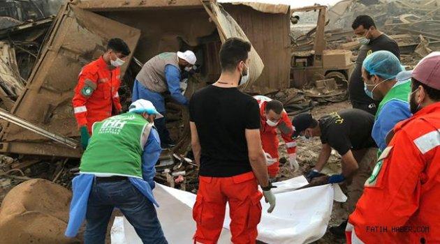 Beyrutta 2750 ton Amonyum nitrat patladı