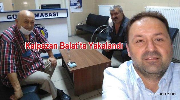 Kalpazan Balatta Yakalandı