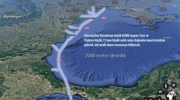 Kanal İstanbul Marmaranın ölümüdür