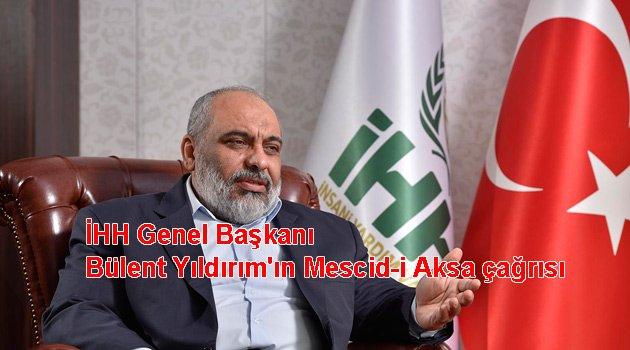 Mescid'i Aksa için meydanlara iniyoruz
