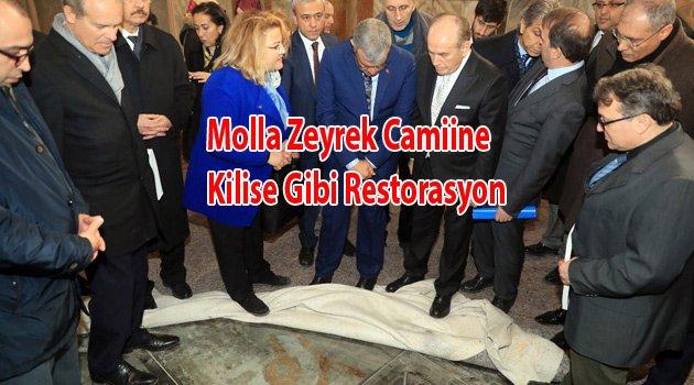 Molla Zeyrek Camii Restorasyonu Bitti.