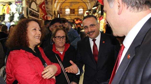 S.Kotil, R. Sofuoğlu Kapalıçarşıda