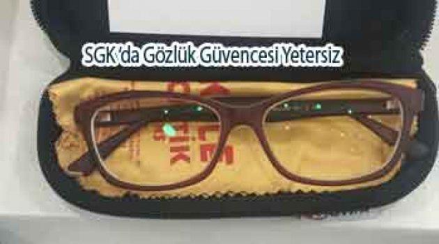 SGK Yüzlerce liralık gözlük için 37 TL veriyor