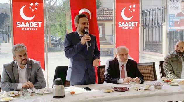 SP fatih belediye başkan adayı esnafla buluştu