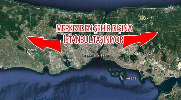 Tarihi İstanbul Mücavir Alana taşınıyor
