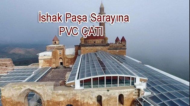 Tarihi Saraya PVC Çatı yapıldı