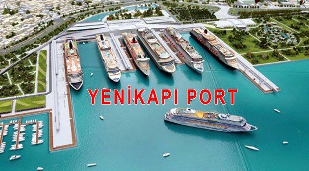 Yeni  kruvaziyer limanı YENİKAPIYA