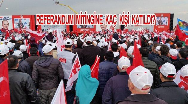 Akp Yenikapı Referandum Mitinginden canlı yayın