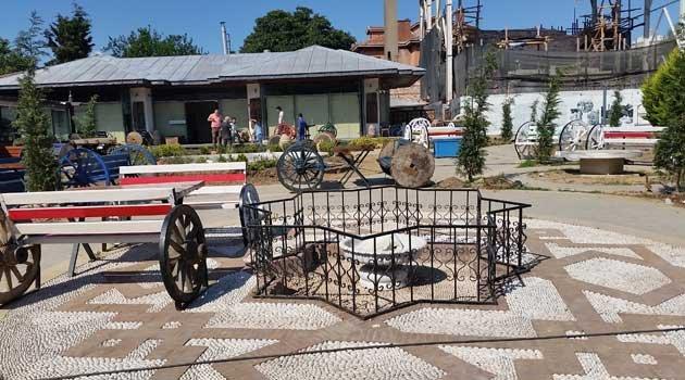 Sultanahmetin göbeğinde kağnı, At arabaları