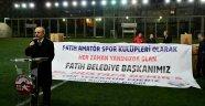 58 spor kulübüne malzeme desteği