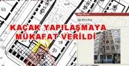 Belediye Yıkılması Gereken Kaçak binayı AK'ladı