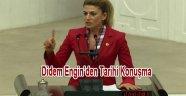 İstanbul Milletvekili Didem ENGİN Akpyi uyardı