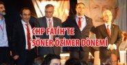 CHP Fatih ilçe yönetimine Soner Özimer