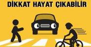 Sürücülere Yaya Geçitlerinde Ceza Yağıyor