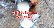 Köylünün sattığı açık süt'e Yasaklama