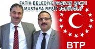 BTP Fatih Bld. Bşk. Adayı M. REŞİT SOFUOĞLU
