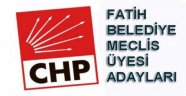 Fatih Chp Meclis aday listesi