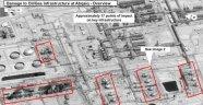 Suud rafinelerini İranın vurduğu iddia ediliyor