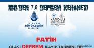 İBB Kandilli Fatih'in olası deprem senaryosu
