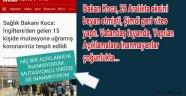 Mutasyonlu COVIT-19 Türkiyede