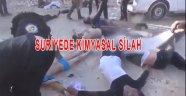 Esad Güçleri Kimyasal silah kullanmaya başladı