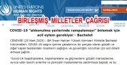 BM Ulusal Karantinada İnsan Hakları