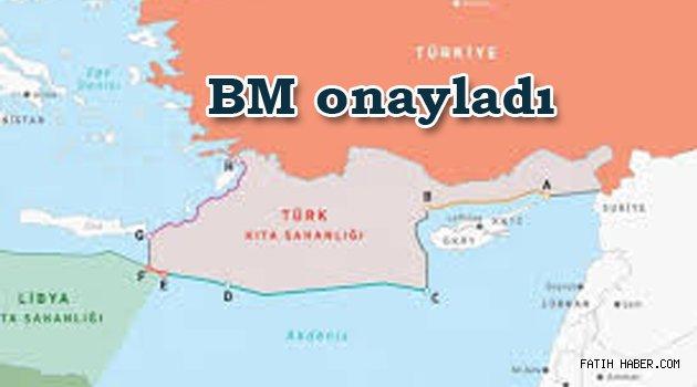 Türkiye Libya Deniz sınırı onaylandı