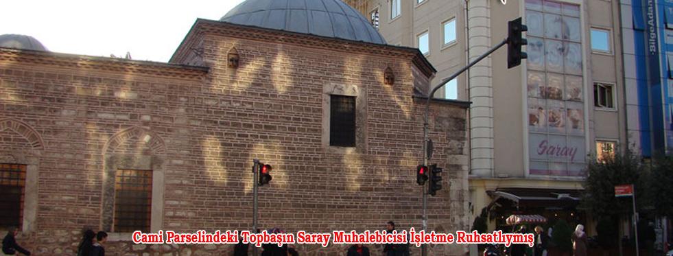 Fatih Saray Muhallebicisi Ruhsatlıymış