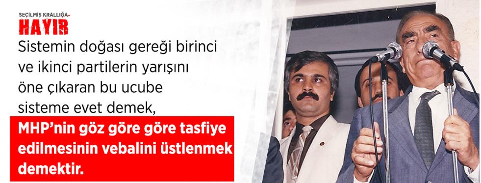 """""""MHP MİLLETVEKİLLERİNE ÇAĞRI;"""