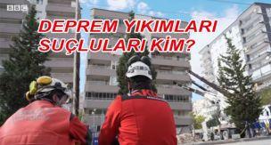 Depremsel yıkımların sorumlusu kim?