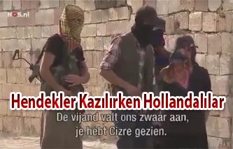 Hendekler Kazılırken Hollandalılar