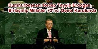 Erdoğan, Birleşmiş Milletler 72'nci Genel Kurul