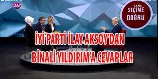 İlay Aksoy, Binali Yıldırıma Cevap verdi