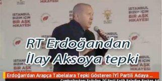 şimdi de İlay Aksoya RT Erdoğan  sardı