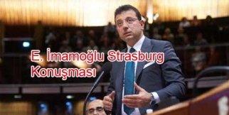 Başkan İmamoğlu Strasburg'da konuştu: