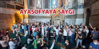 AYASOFYA İBADETE AÇILDI